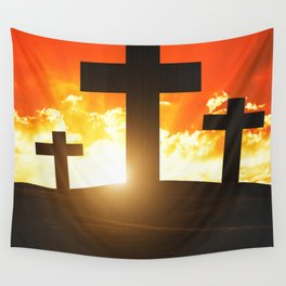 Good friday easter ressurection Wall Tapestry