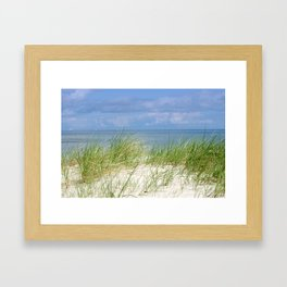 Dunes of the Baltic Sea Framed Art Print