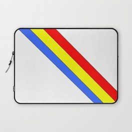 Flag of romania 4 -romania,romanian,balkan,bucharest,danube,romani,romana,bucuresti Laptop Sleeve