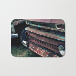 1960's Rusty Trucks Bath Mat
