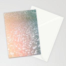 Rosequartz Rose Gold glitter - Pink Luxury glitter sparkling design Stationery Cards