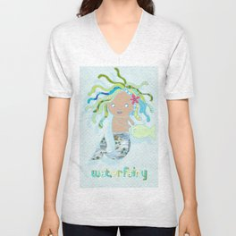 Water Fairy Mermaid Unisex V-Neck