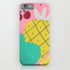 Tropical Fruits Slim Case iPhone 6s