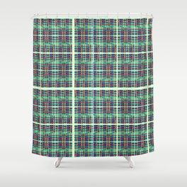 plaidish Shower Curtain