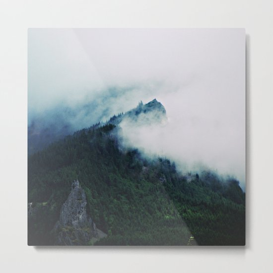Film + Grain: Mountain Mist Metal Print