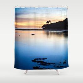 Savasi Island Shower Curtain