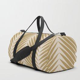 Palm Symmetry - Neutral Green Duffle Bag