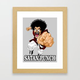 Mr. Satan Framed Art Print