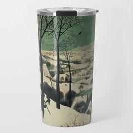 HUNTERS IN THE SNOW - BRUEGEL Travel Mug
