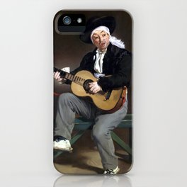 Édouard Manet The Spanish Singer iPhone Case