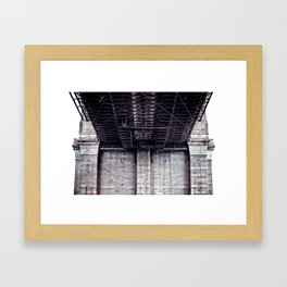 B is for Bridge Framed Art Print