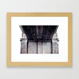 B is for Bridge Framed Art Print