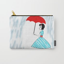 """""""A Rainy Afternoon in 1950"""" Carry-All Pouch"""