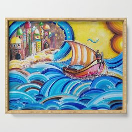 Sinbad, the legend of the seven seas Serving Tray
