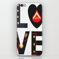 marine iPhone & iPod Skins featuring Marine  by cchelle135