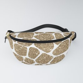 Glitter Giraffe Animal Print Pattern Fanny Pack