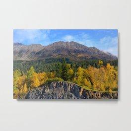 Fall - Turnagain Arm Alaska Metal Print
