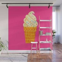 Ice Cream Cone Wall Mural