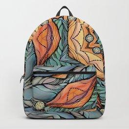 beautiful fantastic flowers Backpack