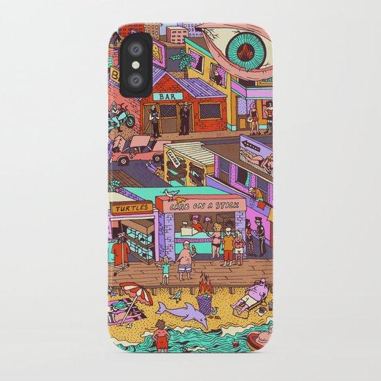 Fried n' Cheesy iPhone Case