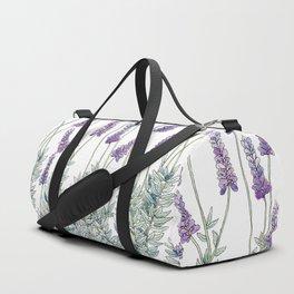 Lavender, Illustration Duffle Bag