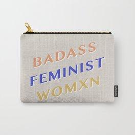 Badass Feminist Womxn Carry-All Pouch