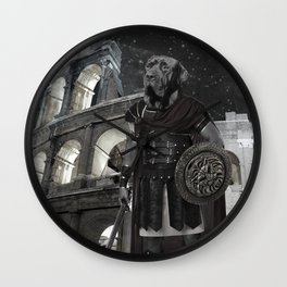 Neapolitan Mastiff Gladiator Wall Clock