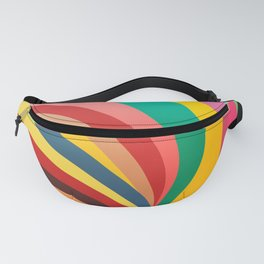 Colorful stripes, rainbow print Fanny Pack