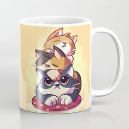 Cat Stack Doodle Coffee Mug