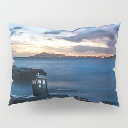 Tardis On The Sea Stone Pillow Sham