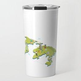 World Traveler Globetrotter Around The World Travel Where To Next Travel Mug