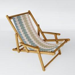 Maude Pattern- Vintage Multicolor Sling Chair