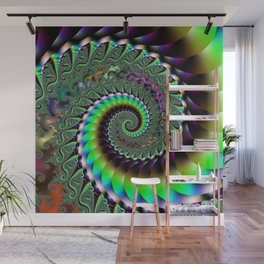 Fractal Staircase Wall Mural