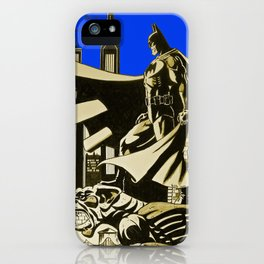 The caped crusader  iPhone Case