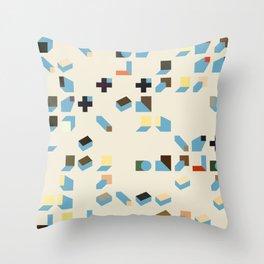 Abstract Geometric Artwork 75 Throw Pillow