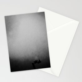 Pigeons on a Lampost Stationery Cards