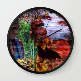 Southwest Wall Clock