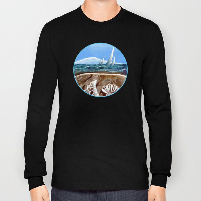 The Geology of Boating Long Sleeve T-shirt