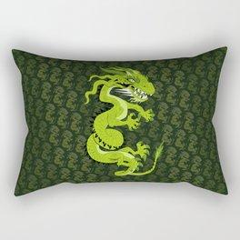 Jade Dragon Rectangular Pillow