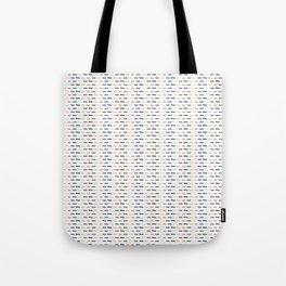 Geometric Doodle Stripes Tote Bag