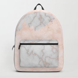Rosette Marble Backpack