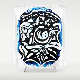 Art design By jen Shower Curtain