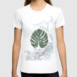 Marble Monstera T-shirt