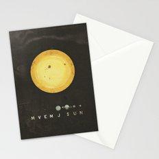 Planetary Arrangement Stationery Cards