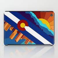 denver iPad Cases featuring Denver, CO by HighTribe