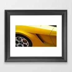 Lamborghini Framed Art Print
