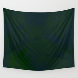 Tropical blue Wall Tapestry