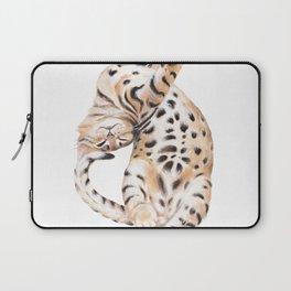 Cute Bengal Kitten Transparent Laptop Sleeve