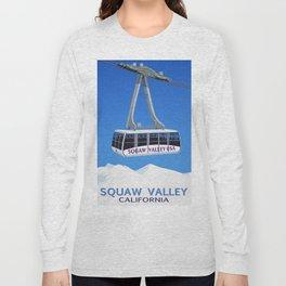 Squaw Valley Ski Resort ,LakeTahoe , California Long Sleeve T-shirt