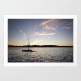 Come Sail Away. Art Print